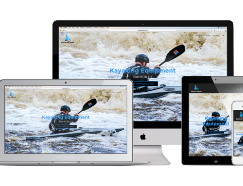 Kakama Kayaks Web Design