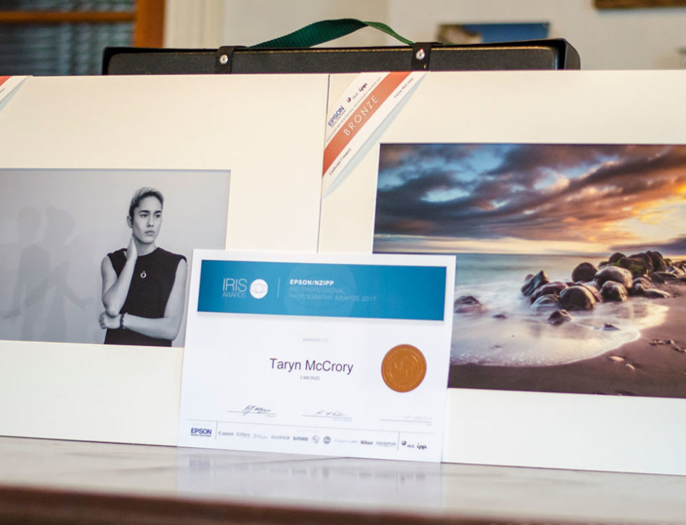 I entered the NZIPP Iris Awards for the first time… and won two bronze awards!
