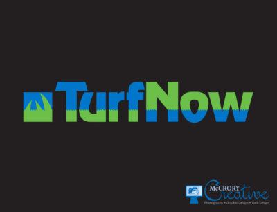 Turfnow logo design