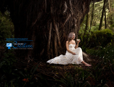 Banner Photography for Moose Tea