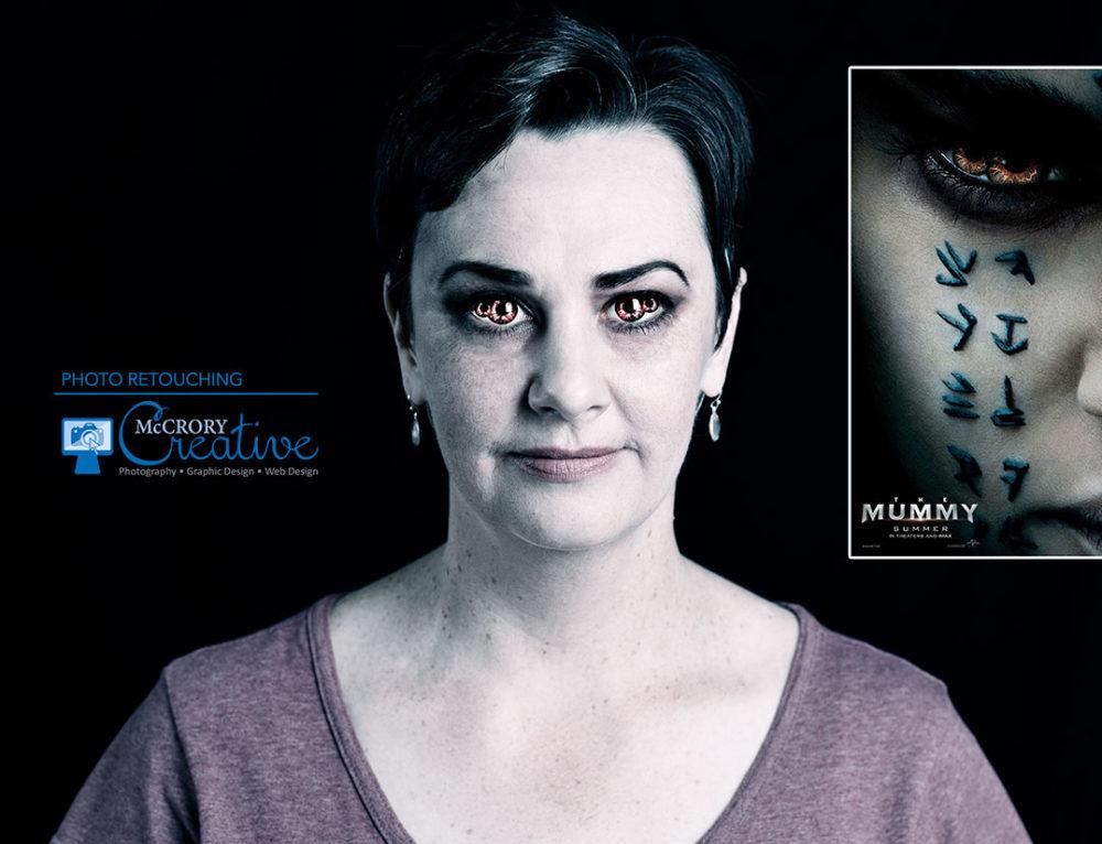 Photo Retouching – The Mummy
