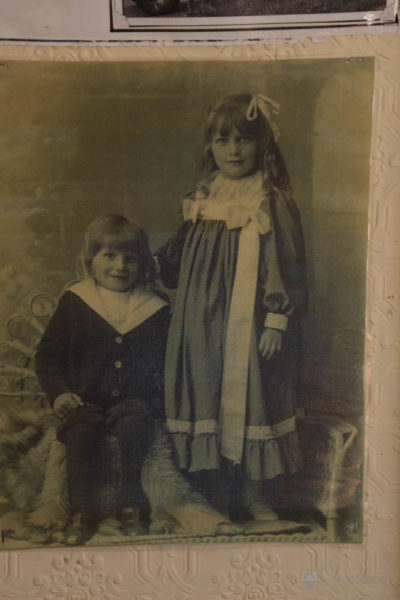 Old image of schoolchildren