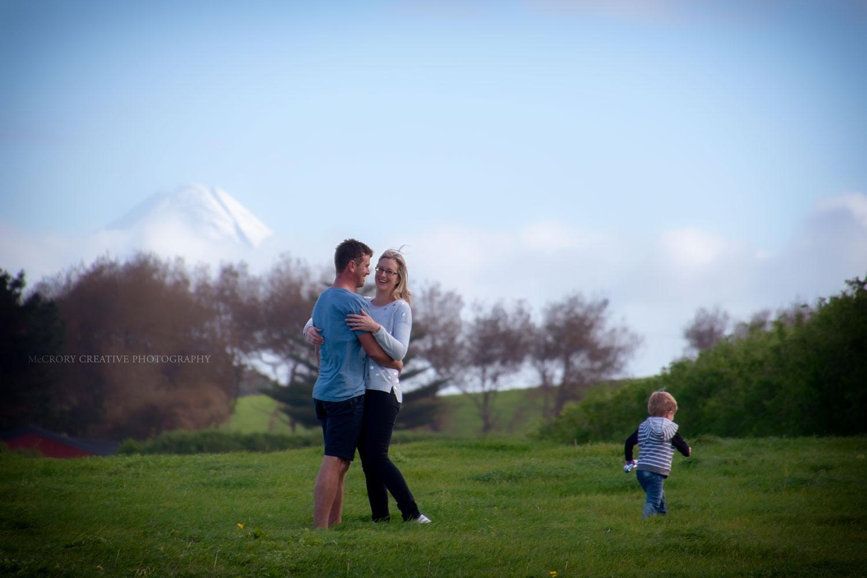 Jo,Shawn and Xavier Mount Taranaki Lifestyle Photography