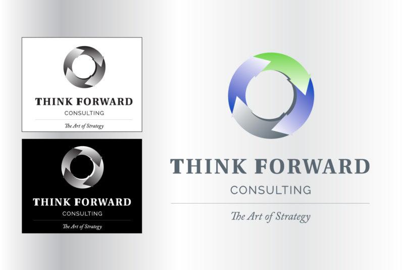 Think Forward Logo Design