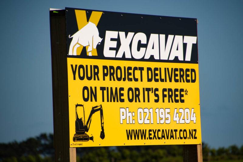 Excavat Billboard