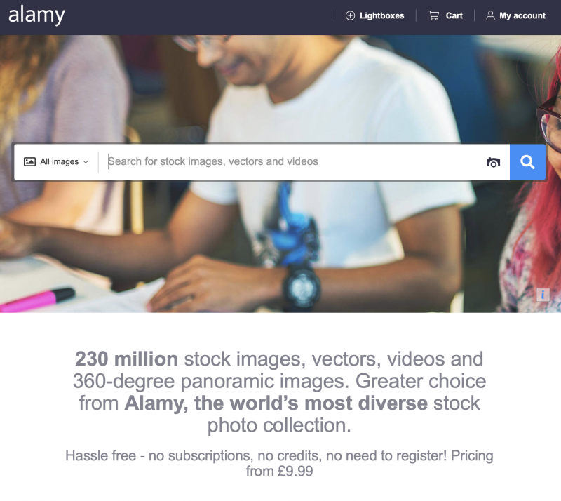 Alamy Affiliate McCrory Creative